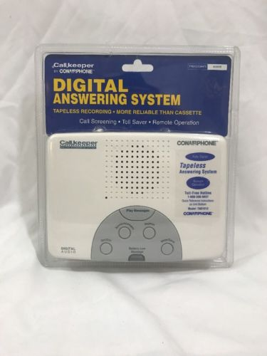 Con Air Call Keeper Digital Answering Machine Tapeless Brand-New