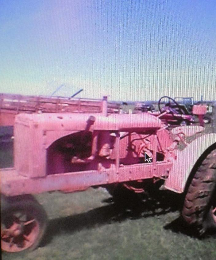 1934 Allis Chalmers Tractor