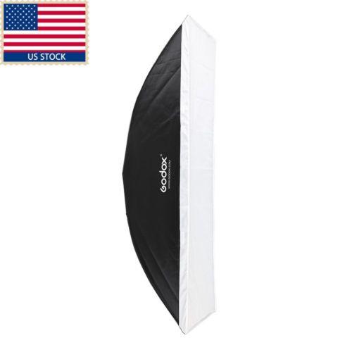 US Godox 35x160cm Largest Bowens Mount Softbox For Wedding Studio Strobe Light