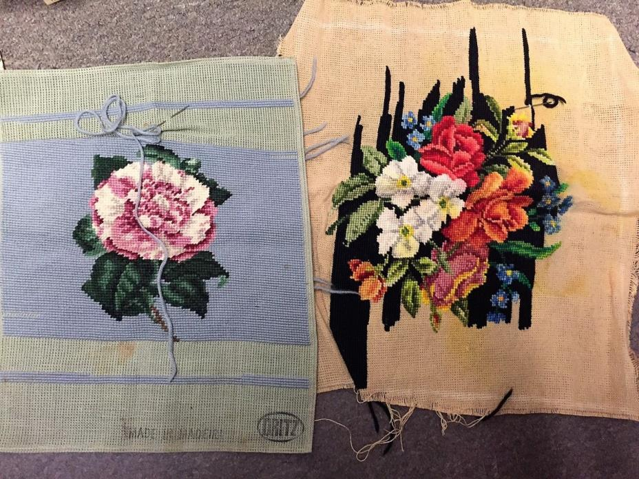 Antique Cross Stitch Pieces to Finish!