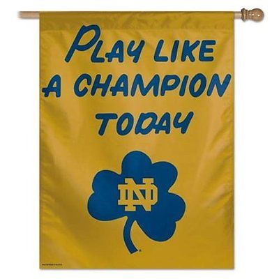 NCAA Notre Dame Vertical Flag, 27