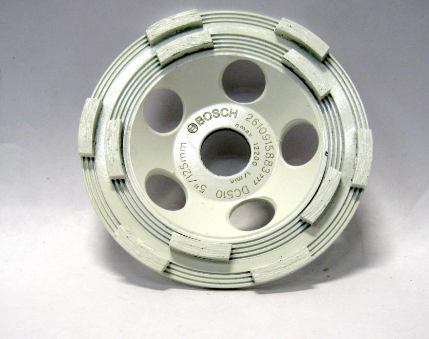 Bosch DC510 5-Inch Diamond Cup Grinding Wheel For Concrete (CCC4b3)