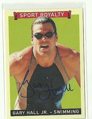 2008 Upper Deck Sports Royalty GARY HALL JR. Autograph USA Olympics AUTO Rare Sp