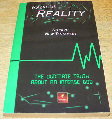 Radical Reality Student New Testament New Living Translation
