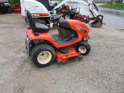 Kubota Gr2110 Diesel 4x4 Lawn Tractor Garden Tractors