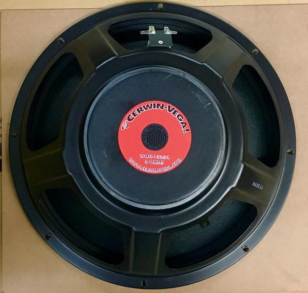 Cerwin Vega WOFP15254 Speaker Woofer INT-152SV2, INT-252SV2, INT-152, INT-252