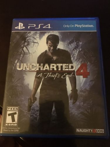 uncharted 4 ps4 game A Thiefs End