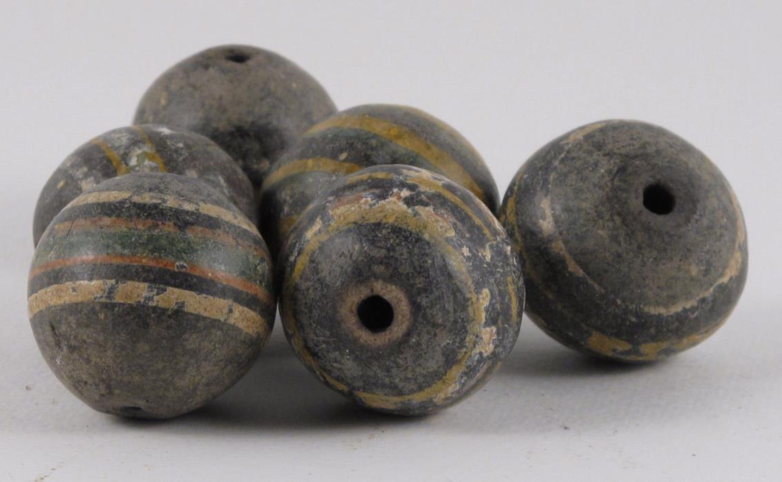 Vintage African Beads / Big and Handsome #3
