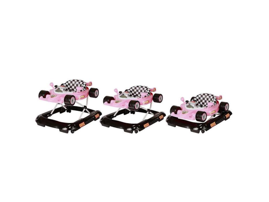 Dream On Me Victory Lane Activity Walker - Pink