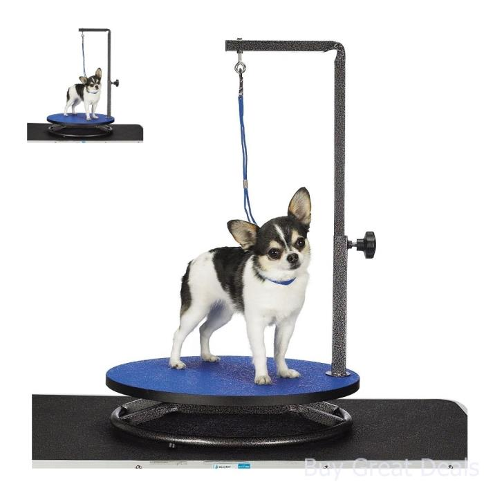 Small Dog Grooming Trimming Table Holder Safety Security Collar Pets Stand New