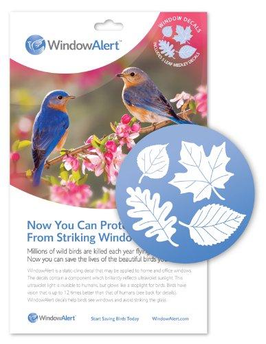 Window Alert Leaf Medley Decal, 5-Pack