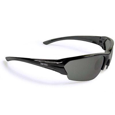 Epoch Eyewear Sunglasses, Epoch 2, Black Frame w/Smoke Lens, New
