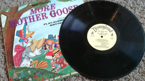 Walt Disney, More Mother Goose w/ play-along band Disneyland DQ 1225 MO 1962