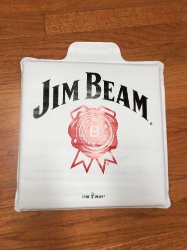 Jim Beam Drink Smart Padded Bleacher Stadium Seat Cushion