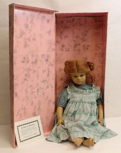 Kathe Doll by Annette Himstedt. Puppen Kinder. The Barefoot Children Series.