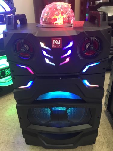 karaoke speakers bluetooth