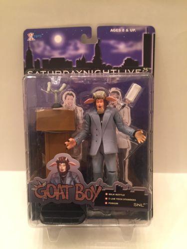 SATURDAY NIGHT LIVE 25--GOAT BOY FIGURE (NEW)x-Toys 2000