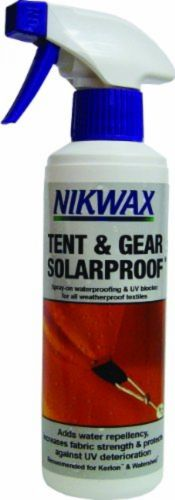 Nikwax Concentrated Tent and Gear Solar Proof Waterproofing
