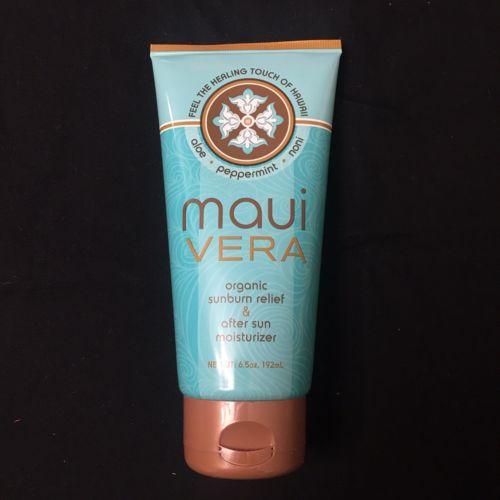 Maui Vera Sunburn Relief & After Sun Moisturizer