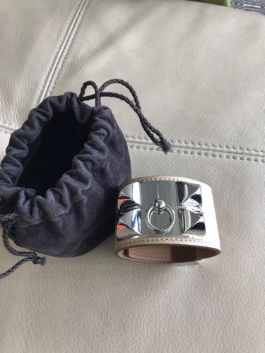 Authentic Natural Collier De Chien Bracelet CDC Receipt Small