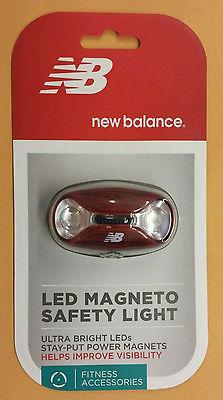 NEW BALANCE LED MAGNETO SAFETY LIGHT Ultra Bright LED Power Magnet #52556NB