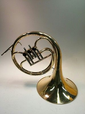 Yamaha YHR314 French Horn with Case for Parts or Restoration