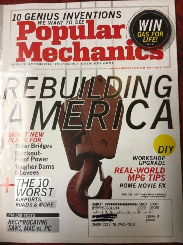 popular mechanics May 2008