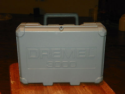 DREMEL 3000 TOOL CASE Instructions only
