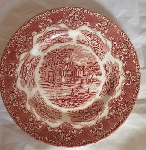 Grindley Transferware English Country Inns Plate