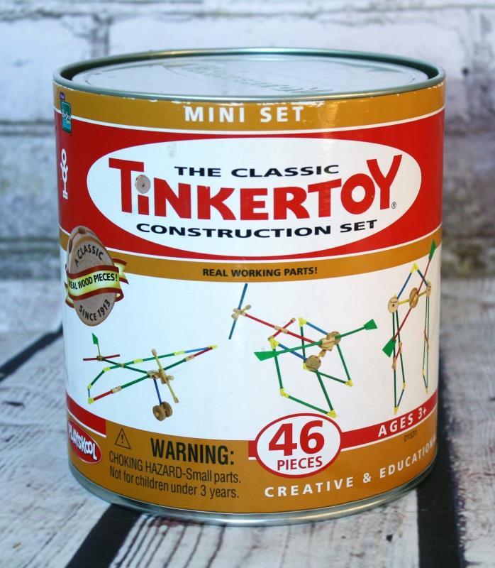 HASBRO THE CLASSIC TINKERTOY 46PC CONSTRUCTION SET