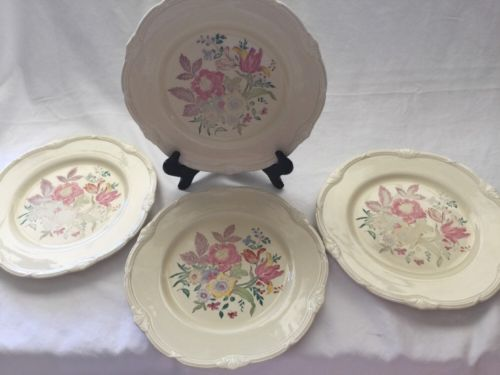 4 Vintage Grindley of Tunstall England China Dinner  Plate