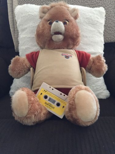 1984-1985 WOW TEDDY RUXPIN -UNTESTED Plus Grunge Music Tape