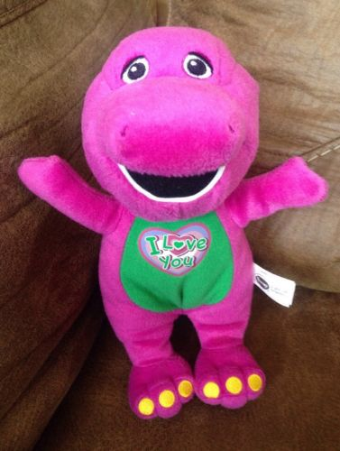 Barney Plush 10