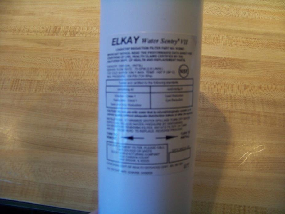ELKAY Water Sentry VII filter cartridges. Lot of 11