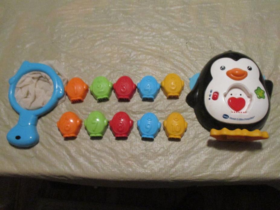 Vtech Bathtime Count & Dive Penguins : Used - Complete
