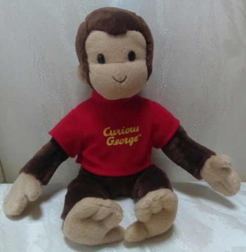 Kohl's Care's Curious George Monkey Plush Gund 2001 Small 10