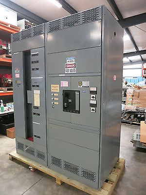 Square D QED 1600 Amp 480V 3W wGround 1600A Main Breaker I-Line Panel Panelboard