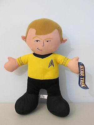 Star Trek Captain James T. Kirk  Plush Stuffed Animal 13