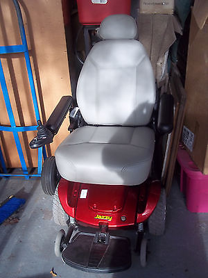JAZZY ELECTRIC WHEELCHAIR NEW BATTERIES&CHARGER NICE!! NICE!! NICE!!