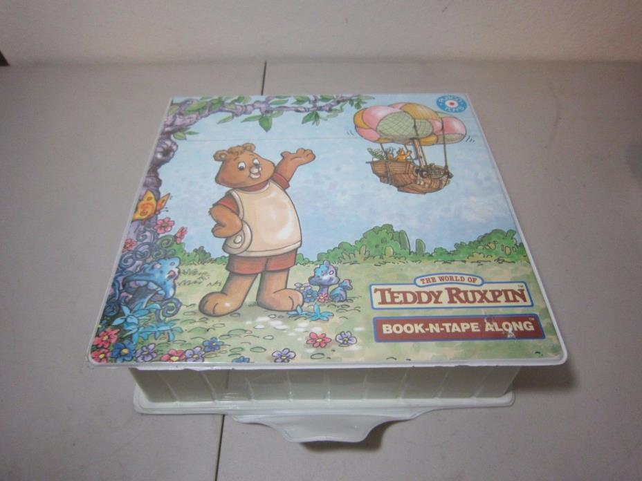 Teddy Ruxpin Books and Tapes lot