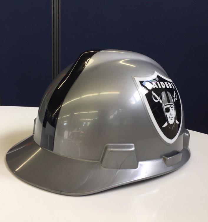 Oakland Raiders Hard Hat Cap Style MSA 818405
