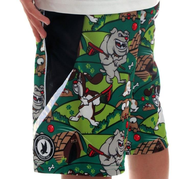 FLOW SOCIETY PUPS COMPETITOR LACROSSE SHORTS YOUTH