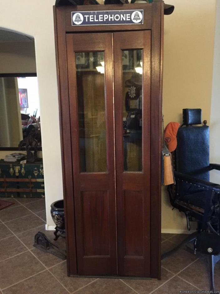 Wood Phone Booth For Sale Classifieds