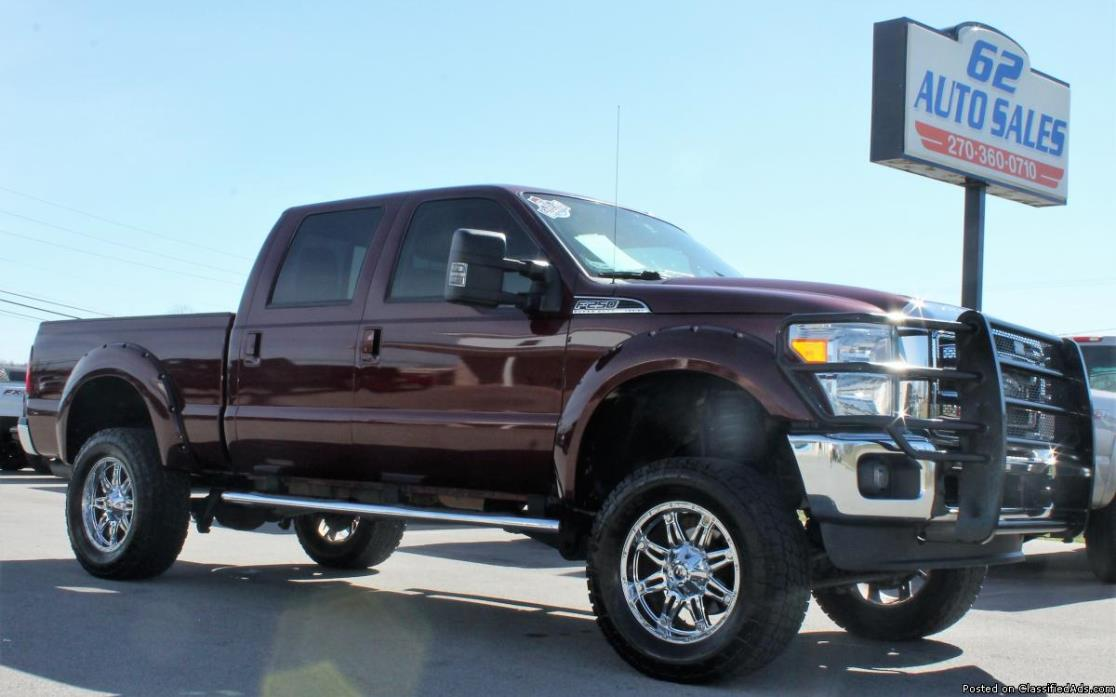 2012 Ford F-250 Lariat Limited Crew Cab FX4 LOADED 1-OWNER TEXAS TRUCK