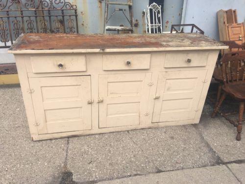 1920's Kitchen Cabinet Base Hard To Find