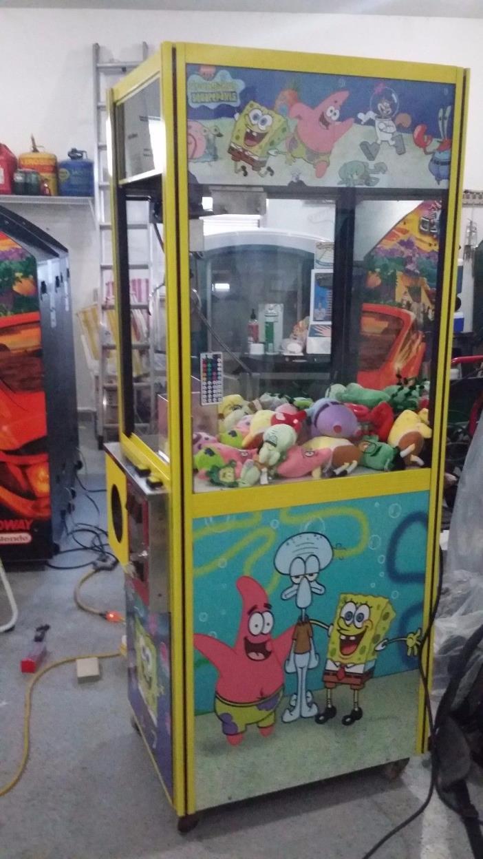 Sponge bob claw machine