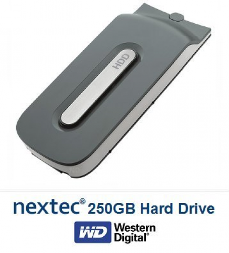New - Xbox 360 (250 GB) Hard Disk Drive HDD for Microsoft Xbox 360 Console