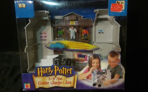 Harry Potter 3D Mini Game Escape the Dursleys Mattel 2002 New in Package!