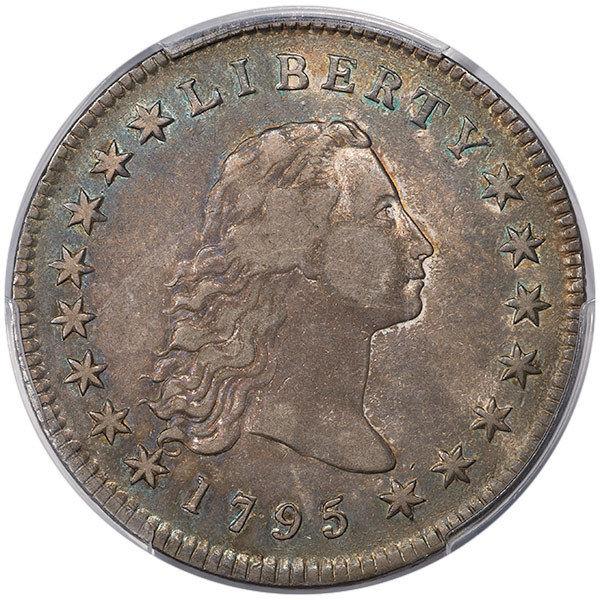 1795 $1 3 Leaves B-7 PCGS VF35