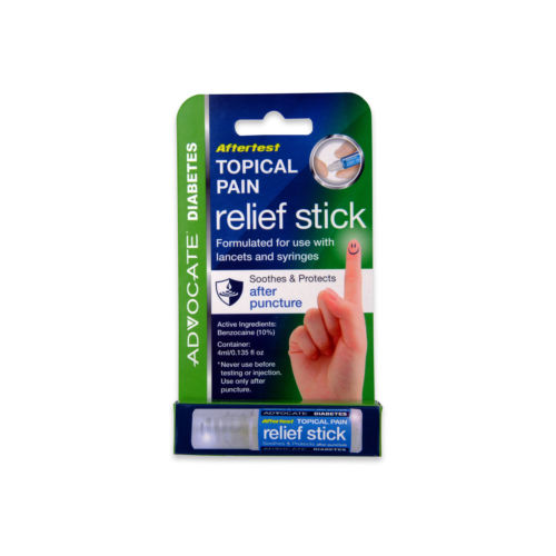 Topical Pain Relief Stick Soothes & Protects After Puncture Advocate